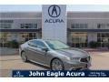 Modern Steel Metallic 2018 Acura TLX V6 Advance Sedan