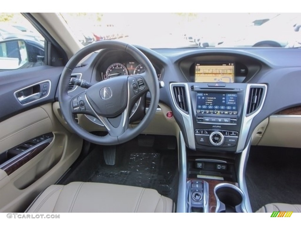 2018 Acura TLX V6 SH-AWD Advance Sedan Dashboard Photos