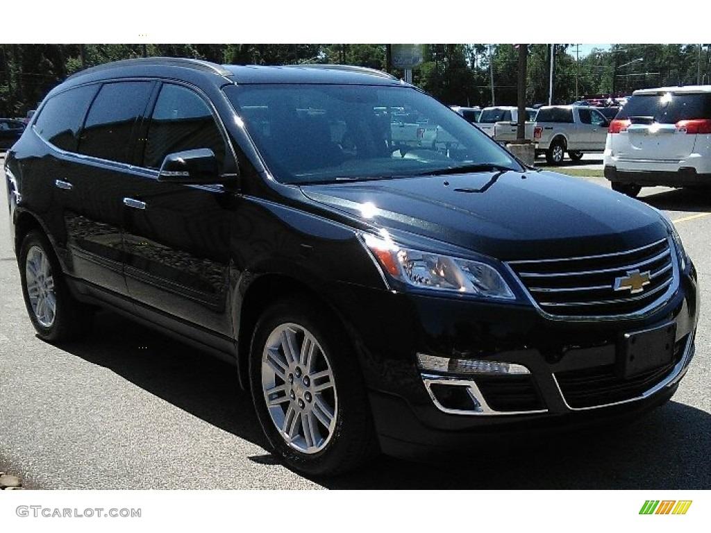 2015 black granite metallic chevrolet traverse lt awd 122078685 photo 7 car. Black Bedroom Furniture Sets. Home Design Ideas