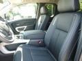 Black 2017 Nissan Titan Interiors