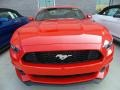 2017 Race Red Ford Mustang V6 Coupe  photo #2
