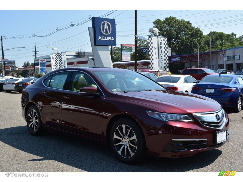 2015 Basque Red Pearl Ii Acura Tlx 2 4 122103494 Photo 4
