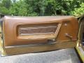 1972 Ford Mustang Saddle Brown Interior Door Panel Photo