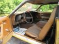 1972 Ford Mustang Saddle Brown Interior Interior Photo