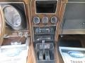 1972 Ford Mustang Saddle Brown Interior Controls Photo