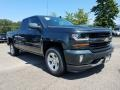 Graphite Metallic - Silverado 1500 LT Double Cab 4x4 Photo No. 1
