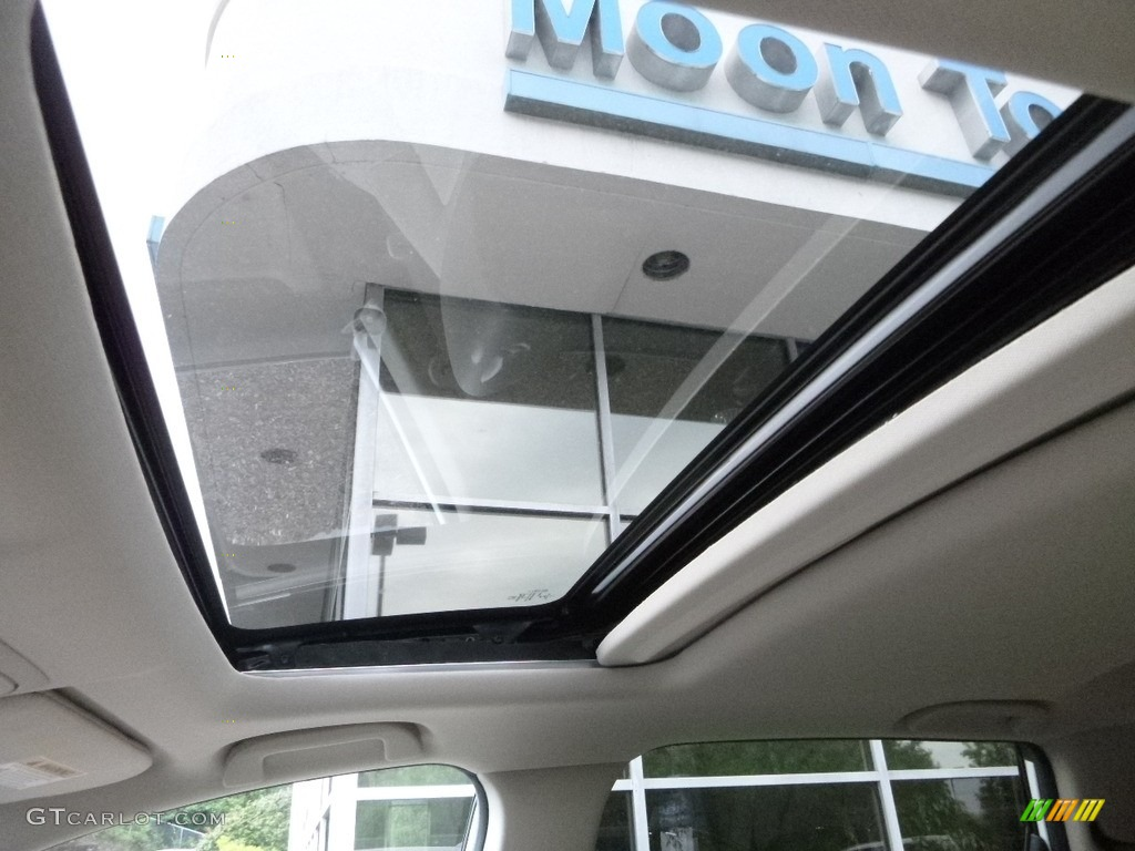 2017 CR-V EX-L AWD - White Diamond Pearl / Ivory photo #13