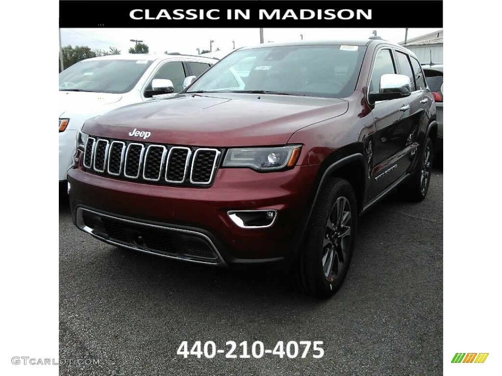 2018 velvet red pearl jeep grand cherokee limited 4x4 122153747 photo 4 car. Black Bedroom Furniture Sets. Home Design Ideas