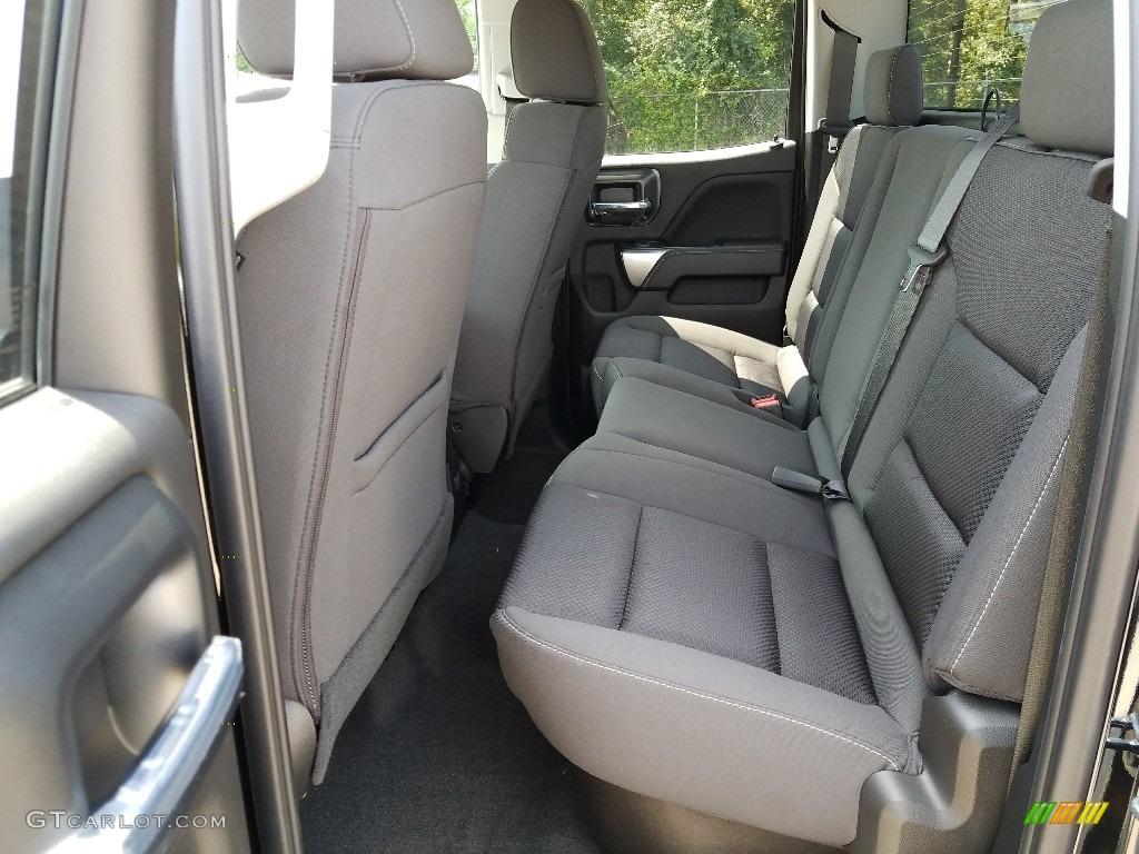 2018 Silverado 1500 LT Double Cab 4x4 - Black / Jet Black photo #6