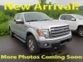 Ingot Silver Metallic 2013 Ford F150 Lariat SuperCrew 4x4