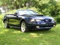 2003 True Blue Metallic Ford Mustang GT Convertible  photo #3