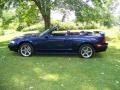 2003 True Blue Metallic Ford Mustang GT Convertible  photo #8