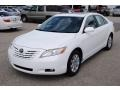Super White 2007 Toyota Camry XLE