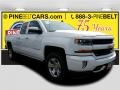 Summit White - Silverado 1500 LT Double Cab 4x4 Photo No. 1