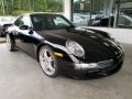 Black 2005 Porsche 911 Carrera Coupe
