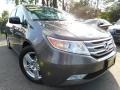 Polished Metal Metallic 2011 Honda Odyssey Touring Elite