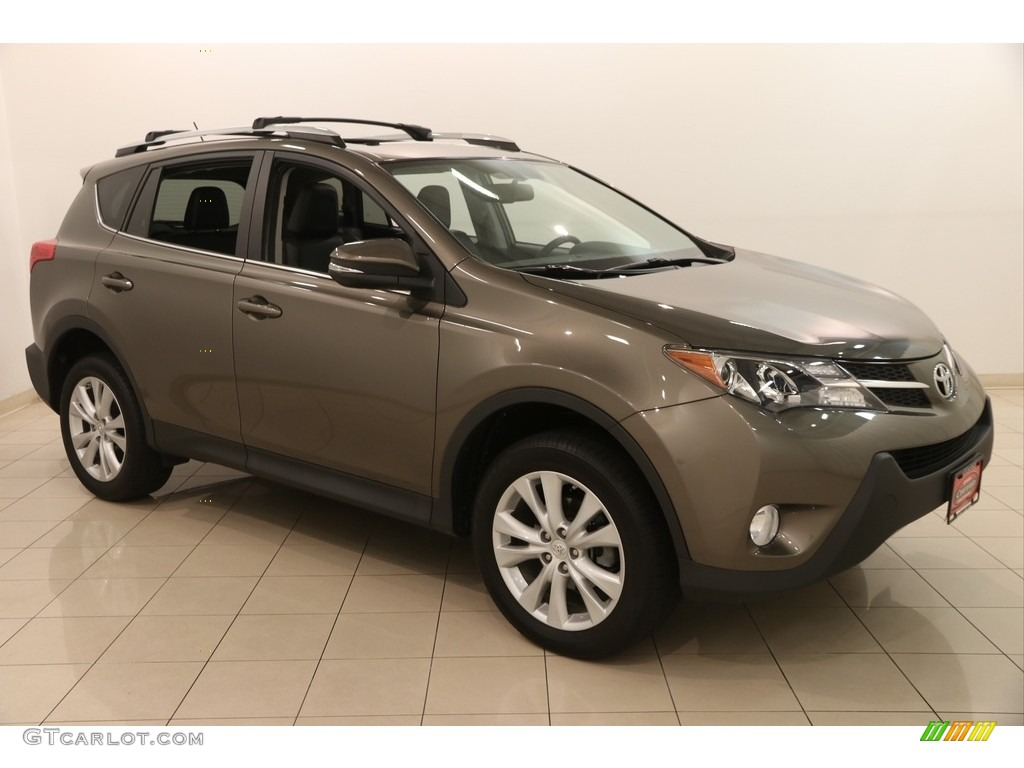 2014 pyrite mica toyota rav4 limited awd 122266943 photo. Black Bedroom Furniture Sets. Home Design Ideas