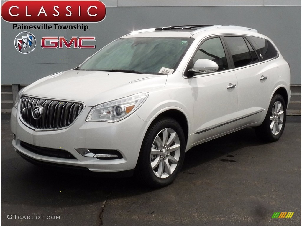 2017 White Frost Tricoat Buick Enclave Leather Awd 122290623 Car Color Galleries