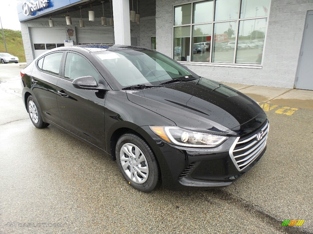 Elantra 2017 Silver >> 2018 Phantom Black Hyundai Elantra SE #122290475 Photo #7 | GTCarLot.com - Car Color Galleries