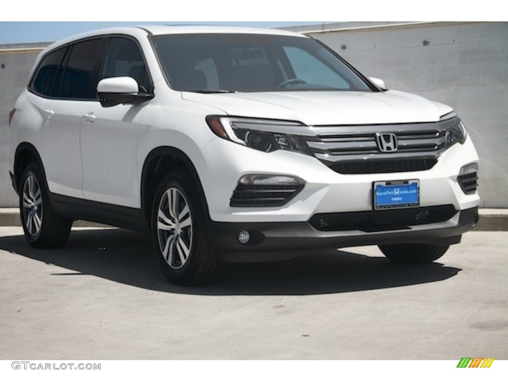 2017 white diamond pearl honda pilot ex l 122322486 car color galleries. Black Bedroom Furniture Sets. Home Design Ideas