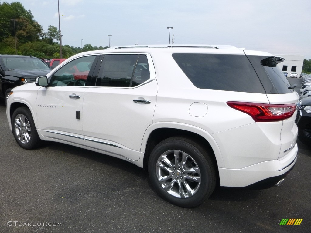 2018 iridescent pearl tricoat chevrolet traverse high country awd 122346290 photo 3 gtcarlot for Traverse high country interior