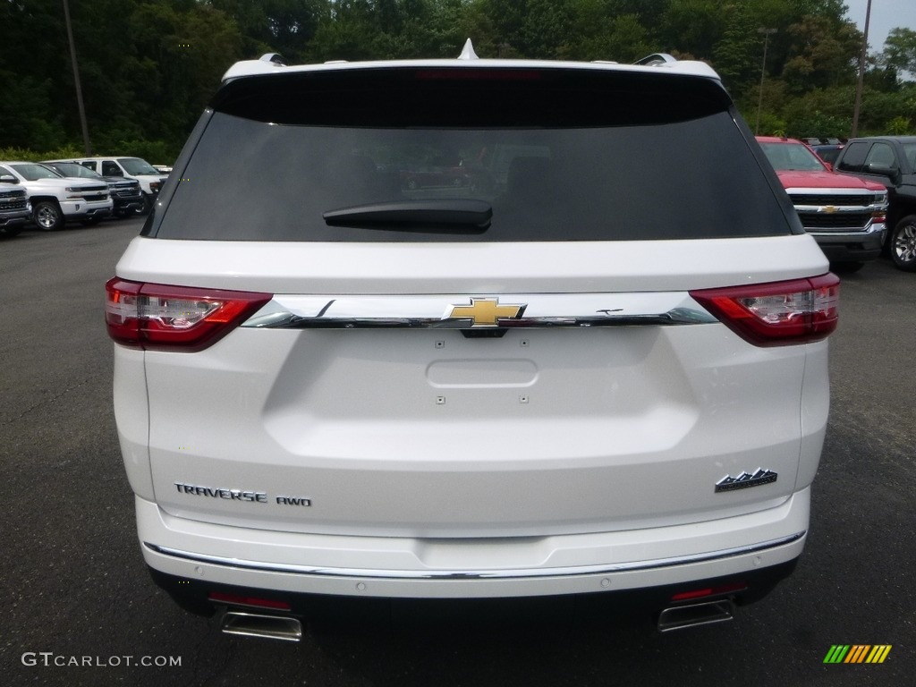 2018 Iridescent Pearl Tricoat Chevrolet Traverse High Country Awd 122346290 Photo 4 Gtcarlot