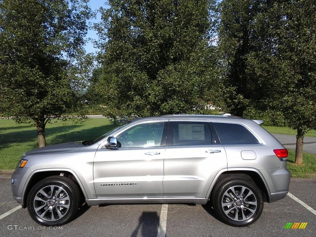 2018 billet silver metallic jeep grand cherokee overland. Black Bedroom Furniture Sets. Home Design Ideas