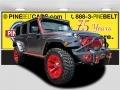 2016 Billet Silver Metallic Jeep Wrangler Unlimited Rubicon 4x4  photo #1