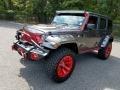 2016 Billet Silver Metallic Jeep Wrangler Unlimited Rubicon 4x4  photo #3