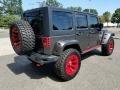 2016 Billet Silver Metallic Jeep Wrangler Unlimited Rubicon 4x4  photo #8