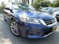Obsidian Blue Pearl 2013 Honda Accord Sport Sedan