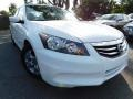 Taffeta White 2012 Honda Accord SE Sedan