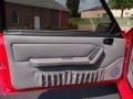 1993 Ford Mustang Grey Interior Door Panel Photo