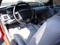 1993 Ford Mustang Grey Interior Dashboard Photo