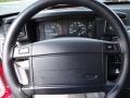 1993 Ford Mustang Grey Interior Steering Wheel Photo