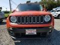 2017 Omaha Orange Jeep Renegade Latitude 4x4  photo #2