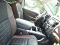 Platinum Reserve Black/Brown 2017 Nissan Titan Interiors