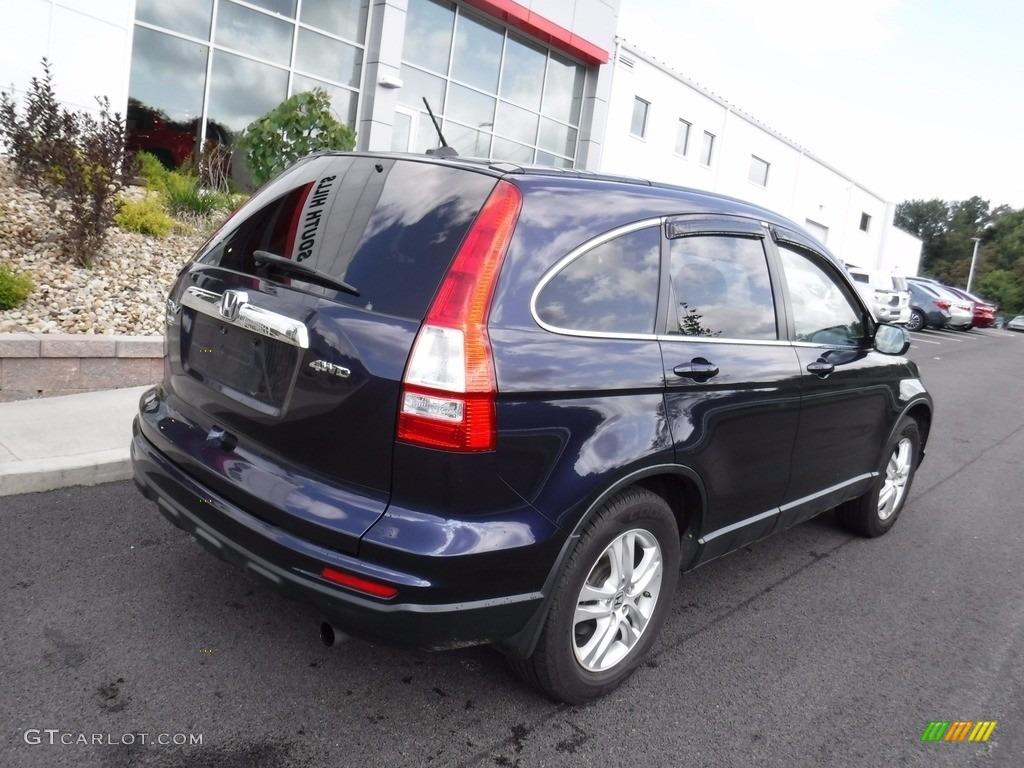 2011 CR-V EX-L 4WD - Royal Blue Pearl / Gray photo #8