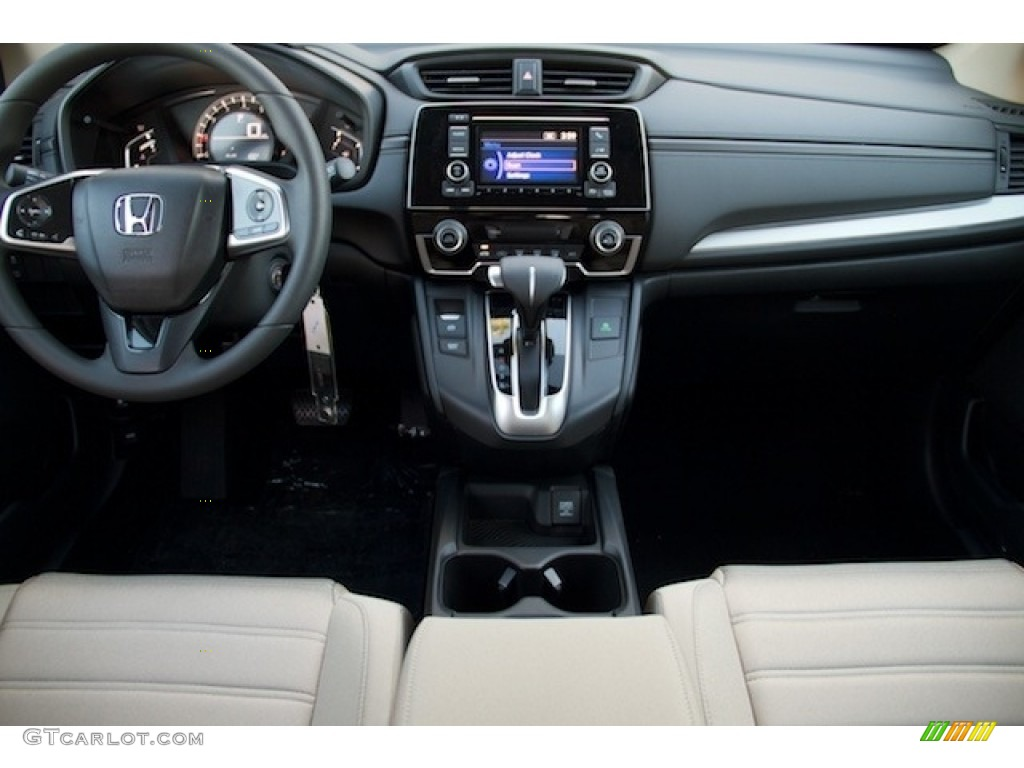 2017 CR-V LX - White Diamond Pearl / Ivory photo #11