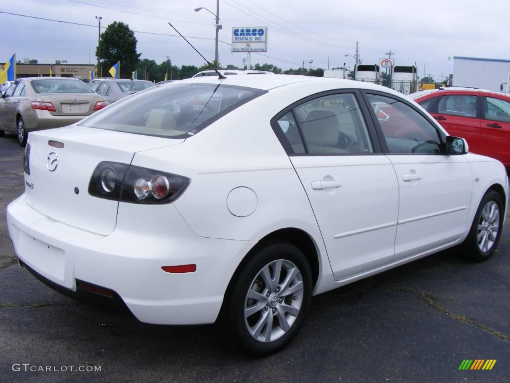 2007 rally white mazda mazda3 i sport sedan 12238432 photo 3 car color galleries. Black Bedroom Furniture Sets. Home Design Ideas