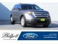 Sterling Gray 2014 Ford Explorer XLT