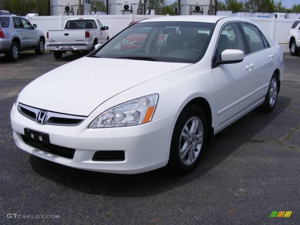 2007 Taffeta White Honda Accord Se Sedan 12238407 Gtcarlot Com Car Color Galleries