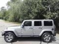 Billet Silver Metallic 2017 Jeep Wrangler Unlimited Sahara 4x4