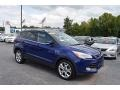2014 Deep Impact Blue Ford Escape Titanium 2.0L EcoBoost 4WD #122467476