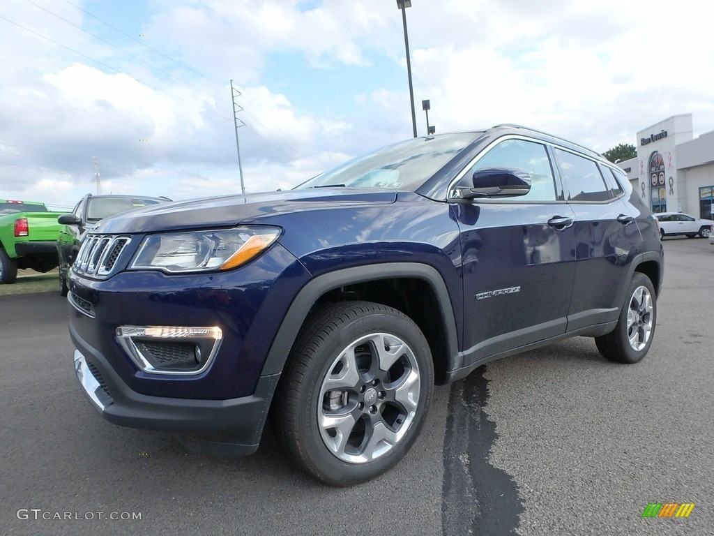 2018 Jazz Blue Pearl Jeep Compass Limited 4x4 122479852 Gtcarlot Com Car Color Galleries