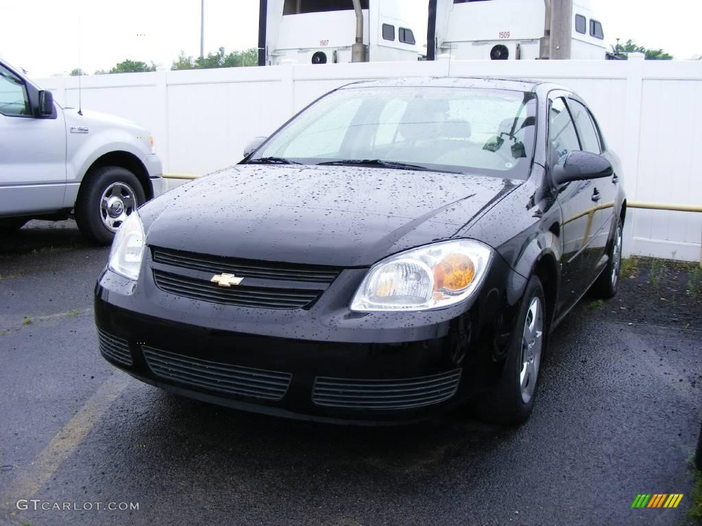2007 black chevrolet cobalt lt sedan 12238416 gtcarlot. Black Bedroom Furniture Sets. Home Design Ideas