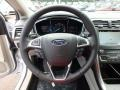 Medium Light Stone Steering Wheel Photo for 2017 Ford Fusion #122518577