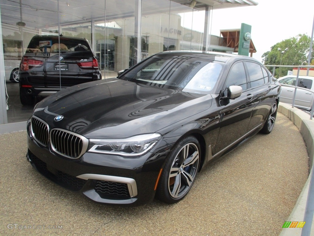 2018 black sapphire metallic bmw 7 series m760i xdrive. Black Bedroom Furniture Sets. Home Design Ideas