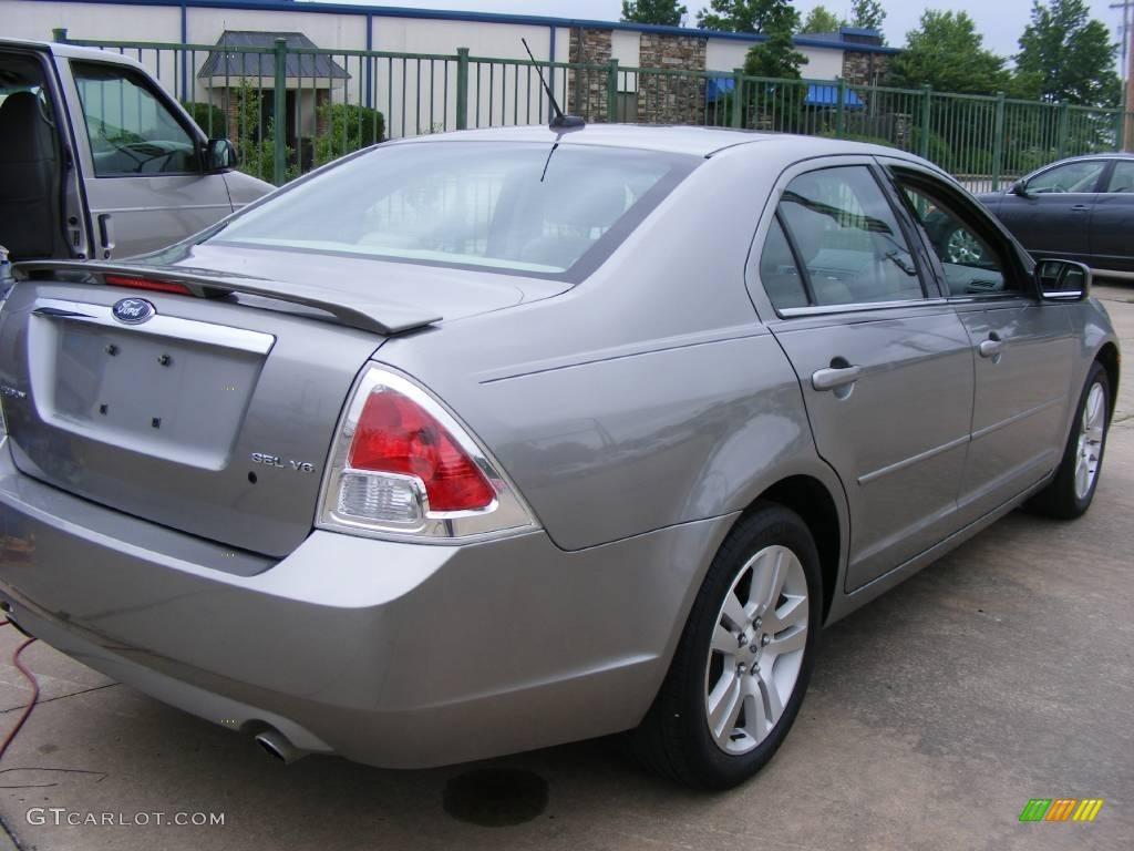 2008 vapor silver metallic ford fusion sel v6 12238410 photo 3 car color. Black Bedroom Furniture Sets. Home Design Ideas
