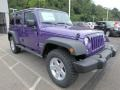 Extreme Purple 2017 Jeep Wrangler Unlimited Gallery
